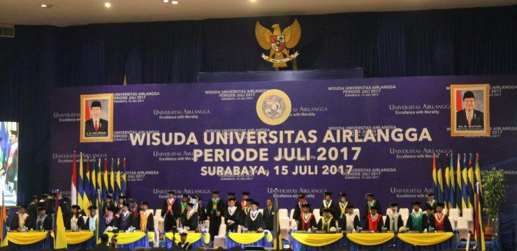 WISUDAWAN TERBAIK MAGISTER HUKUM FH UNAIR PERIODE JULI 2017