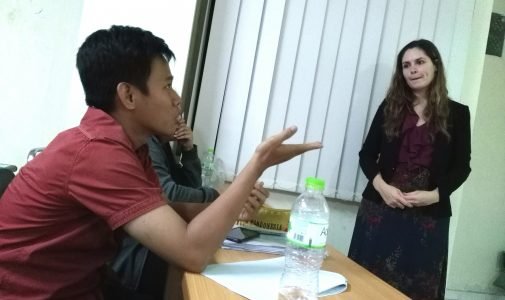 ANTUSIAS MAHASISWA MIH-VISITING LECTURERS ASAL NEGERI KINCIR ANGIN