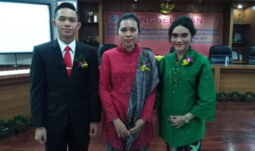 TIGA MAHASISWA MIH BERLATAR BELAKANG TNI, LEGAL, DAN JAKSA DINOBATKAN MENJADI TIGA WISUDAWAN TERBAIK