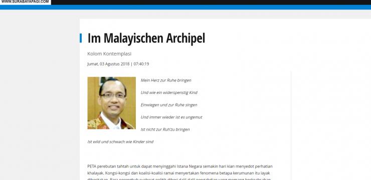 Im Malayischen Archipel